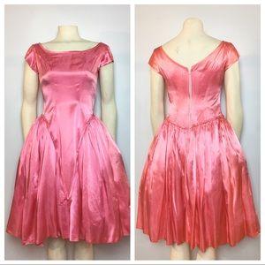 Vintage Emma Domb Cinderella Pink Dress